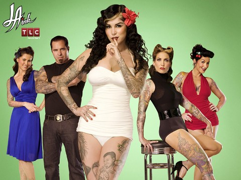 tattoo artist Kat Von D, who formerly starred on Miami